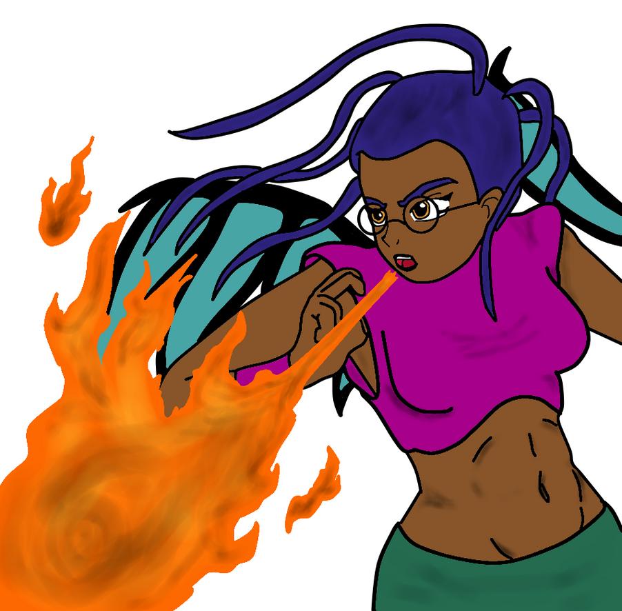 Taranee Dragon Fire by Phantalus