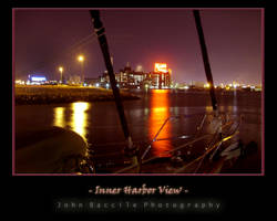 Inner Harbor View East by barefootphotography