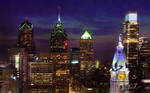 Philly Skyline 2008 - Night