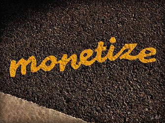 Stikman Says 'Monetize' by barefootphotography
