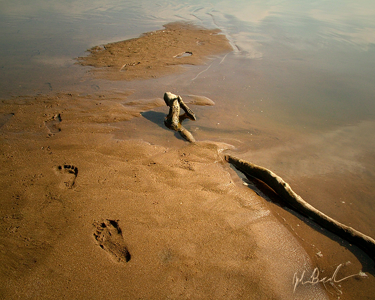 Footprints of God by barefootphotography