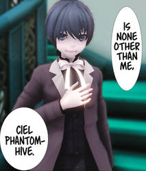 [ MMD ] real!Ciel Phantomhive by Cieeel