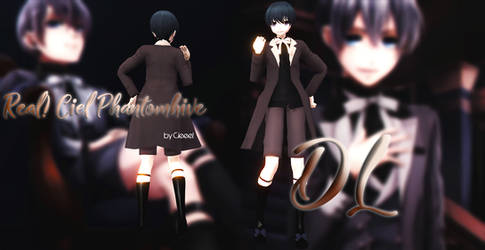 [ MMD ] real! Ciel Phantomhive DL by Cieeel