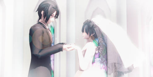 Wedding Sebastian x Ciel by Cieeel