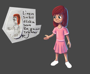 Re-drawing an old character 2