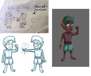 Re-drawing an old character 3