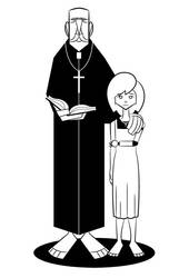 Hanna and the priest by reigneous