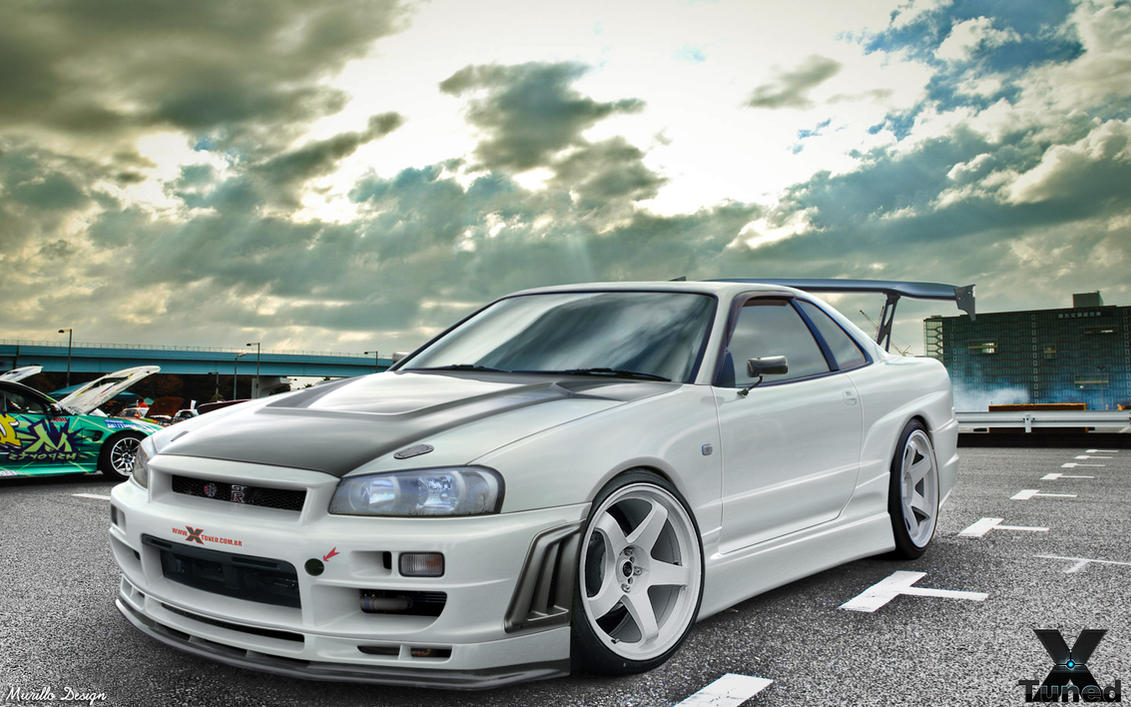 Nissan Skyline R34 GTR by MurilloDesign on DeviantArt