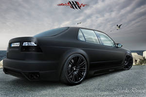 Saab 9-5 Sedan - Black Matte by MurilloDesign