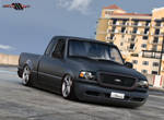 Ford Ranger Black Matte