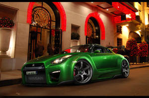 Nissan GT-R - WTB'10 by MurilloDesign