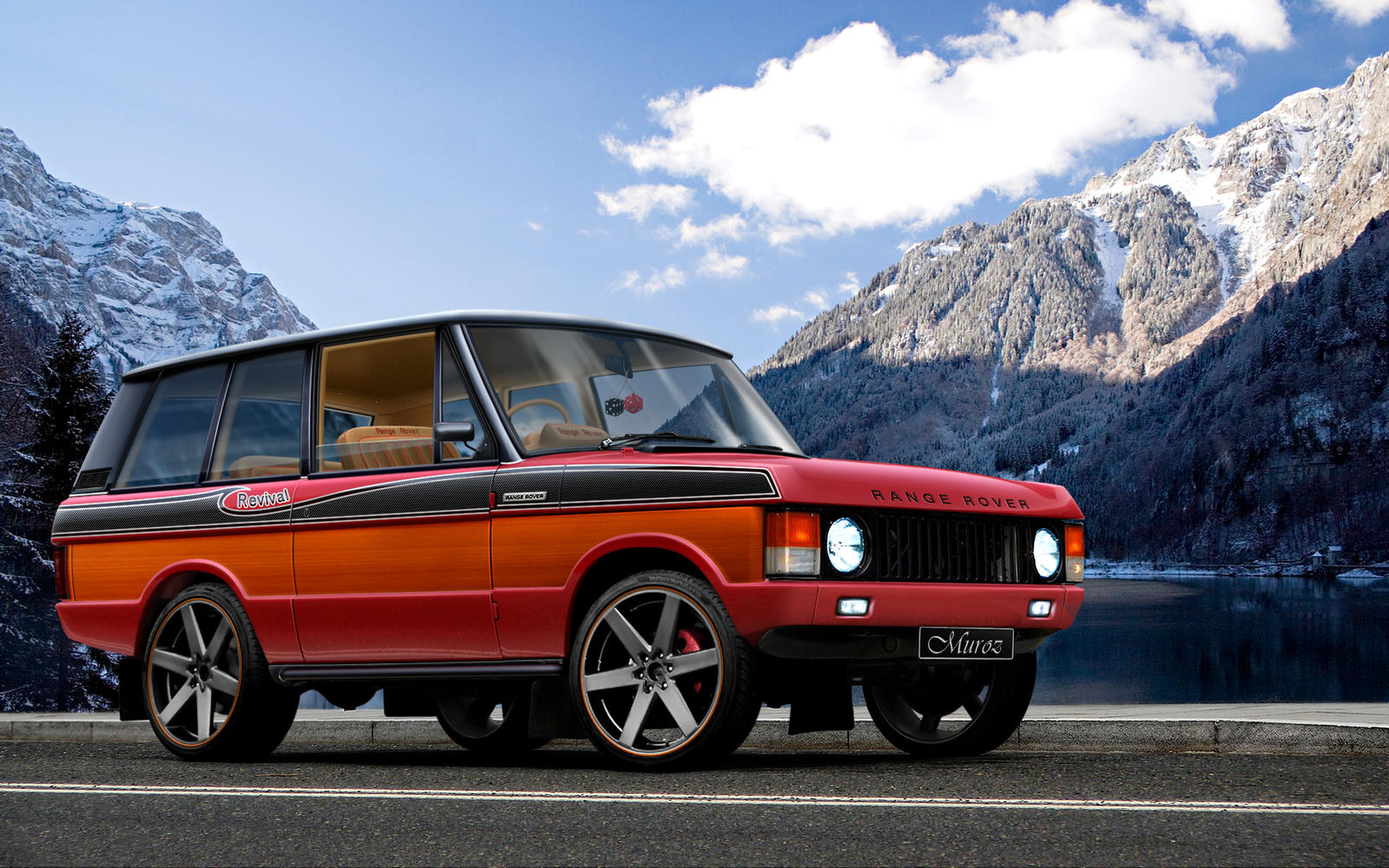 Land Rover Range Rover 1970 by MurilloDesign