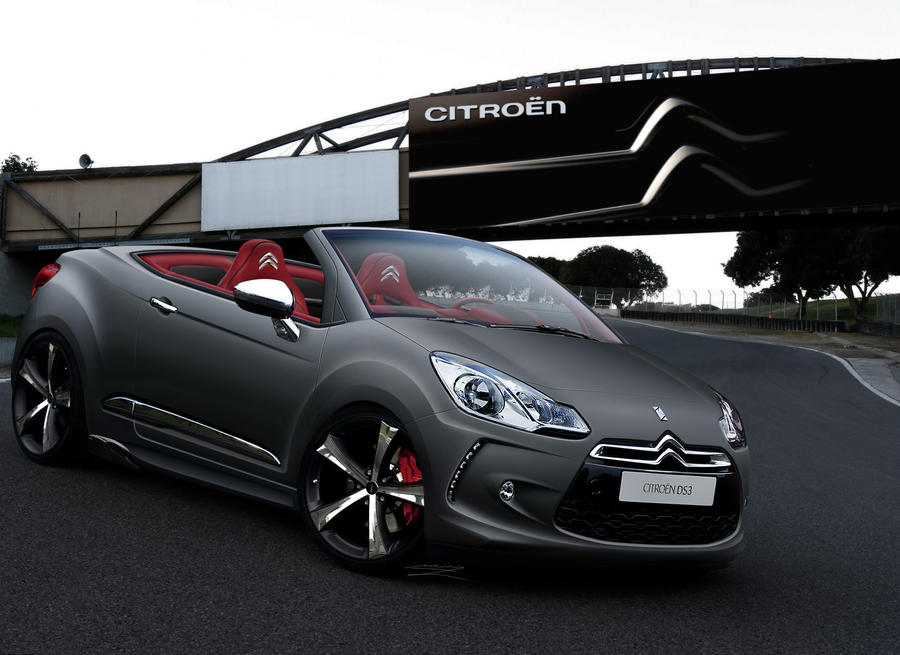 Citroen DS3 Cabrio Lead Mat by MurilloDesign
