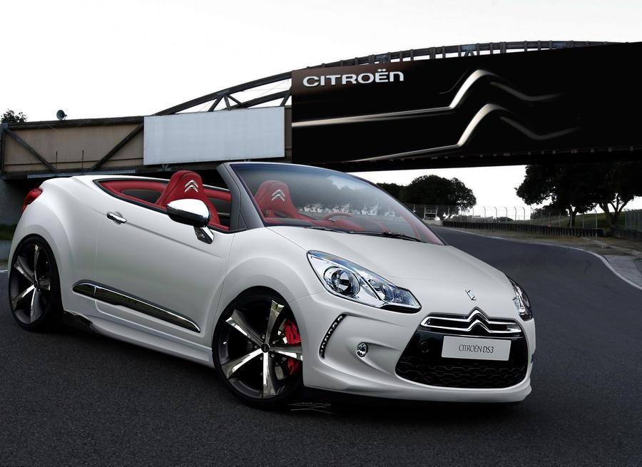 citroen ds3 cabrio white by murillodesign on deviantart. Black Bedroom Furniture Sets. Home Design Ideas