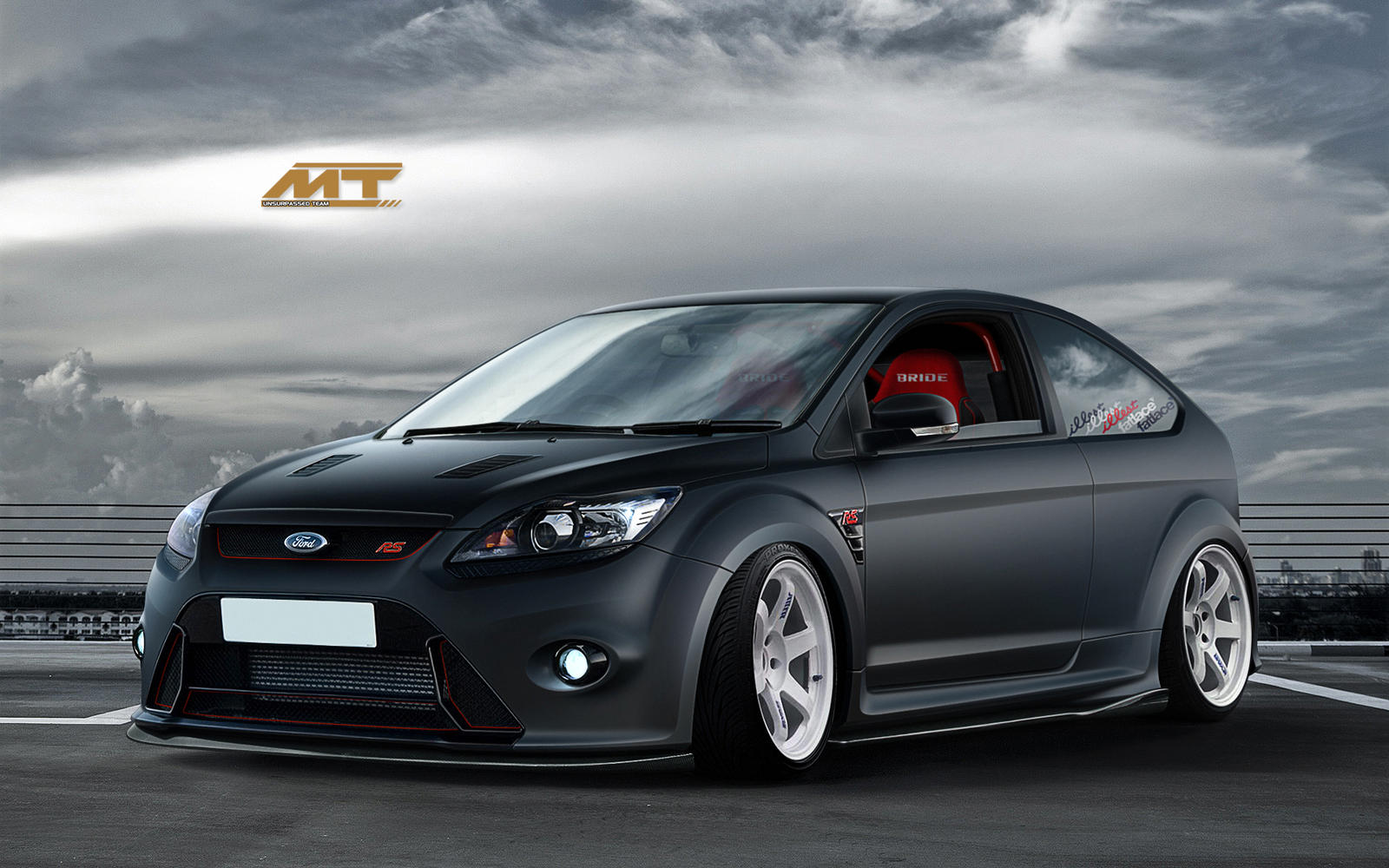 ford focus rs by murillodesign on deviantart. Black Bedroom Furniture Sets. Home Design Ideas
