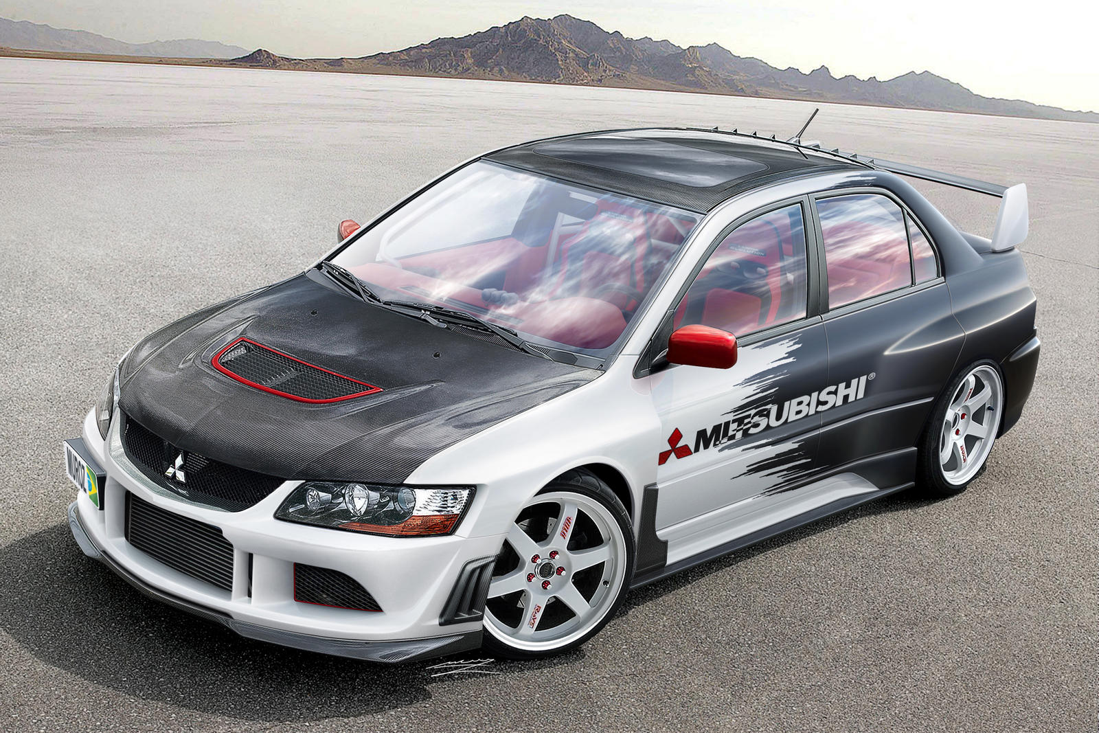 Mitsubishi Lancer Evolution by MurilloDesign