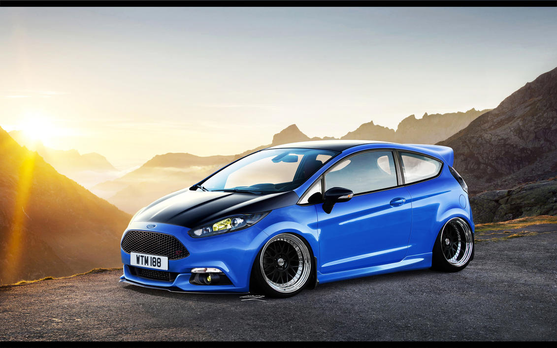 Ford Fiesta ST by MurilloDesign