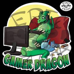 Gamer Dragon - Epic Panda