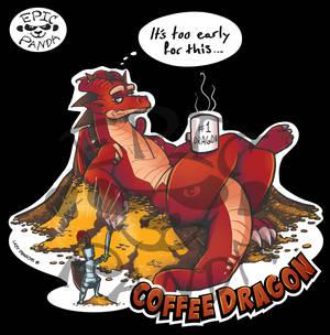 Coffee Dragon - Epic Panda