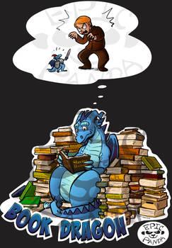 Book Dragon - Epic Panda