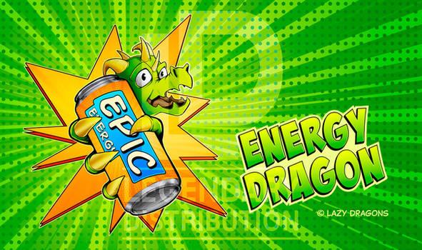 Energy Dragon Playmat
