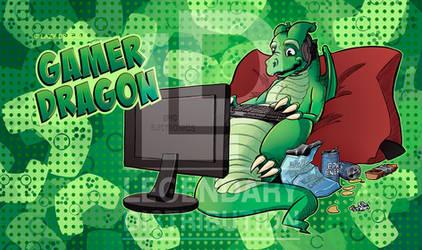 Gamer Dragon Playmat