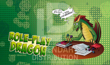 Role Play Dragon Playmat