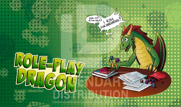 Role Play Dragon Playmat
