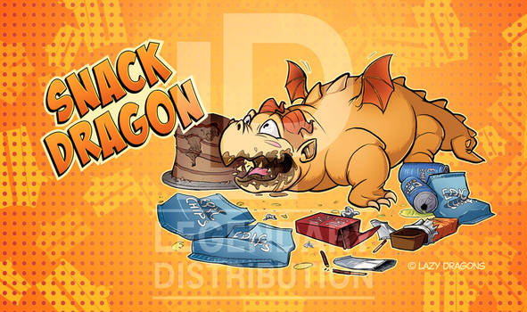 Snack Dragon Playmat