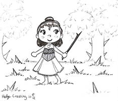 Hedge Crossing