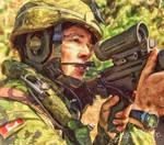 PPCLI Canadian Soldier by Shawna Mac