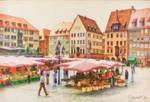 Nuremberg Market, Germany by Shawna Mac