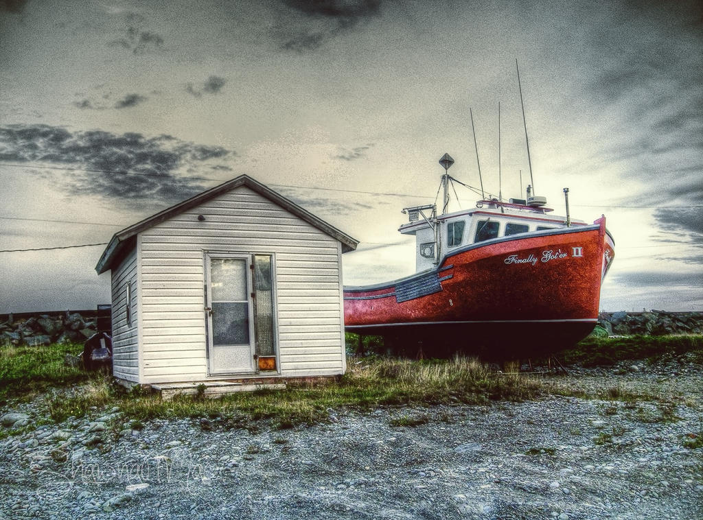 Dat Der Boat on Cape Breton Island by ShawnaMac