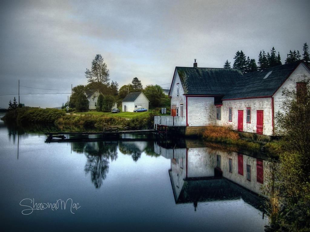 Grand River Cape Breton Island Nova Scotia by ShawnaMac