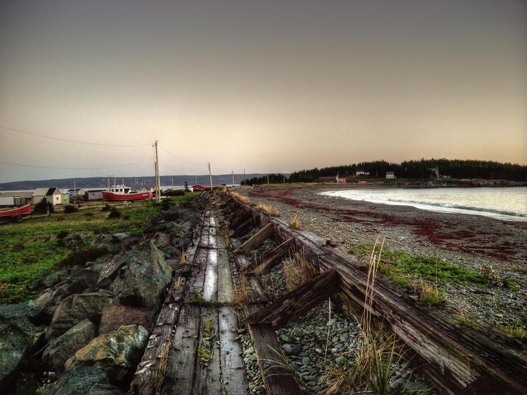 Gabarus Seawall 2013 Cape Breton Island by ShawnaMac