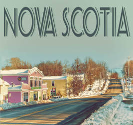 Nova Scotia Travel Poster