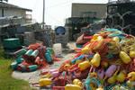Peggys Cove Fish Nets