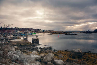 Lower Prospect Morning Storm - Nova Scotia Canada by ShawnaMac