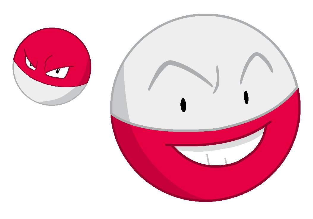 electrode and voltorb - photo #4