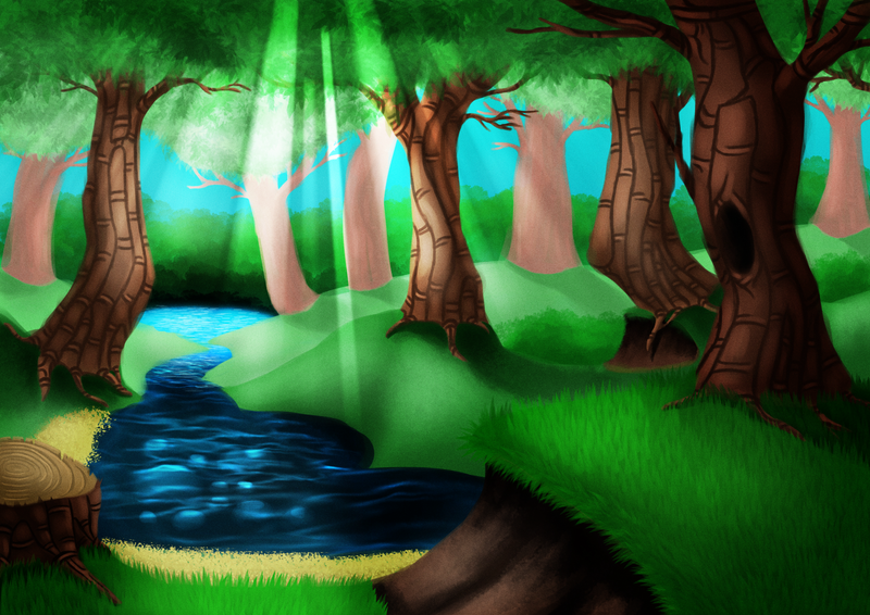 Forest practice by Lazy-a-Ile
