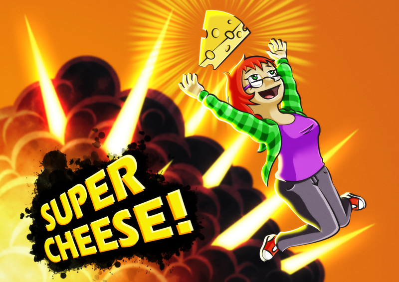 SUPER CHEESE! by Lazy-a-Ile
