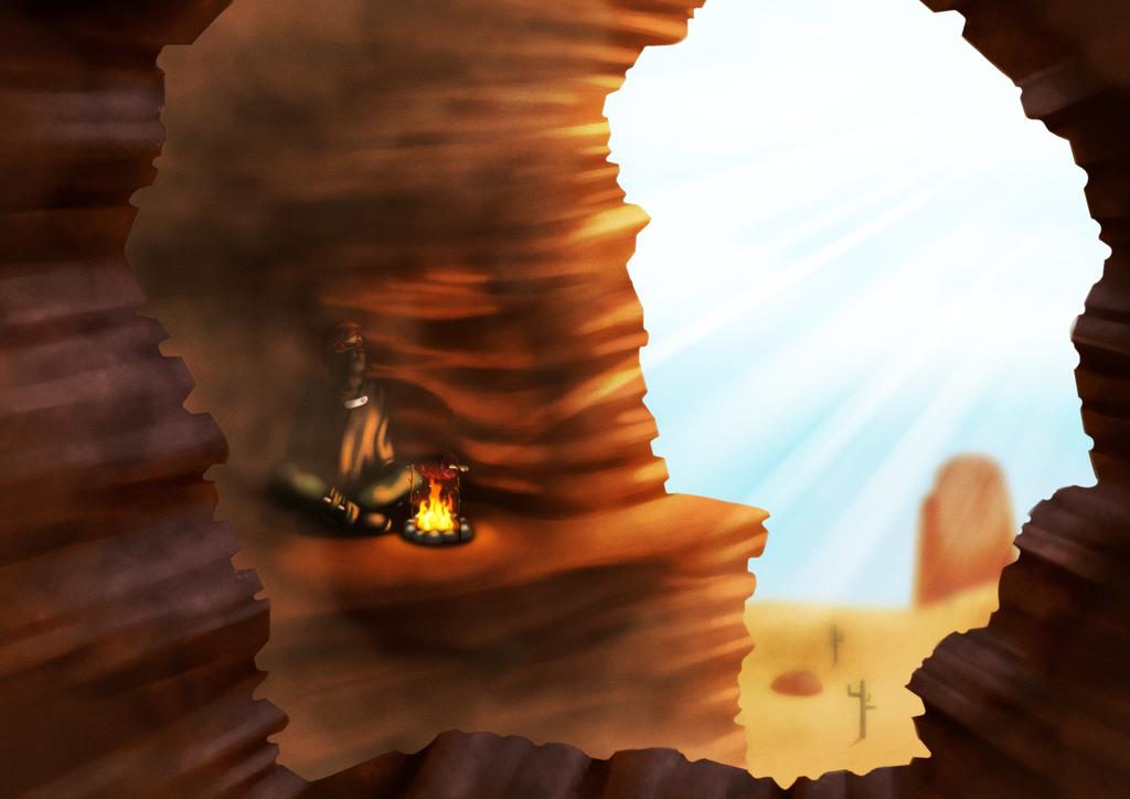 Desert air by Lazy-a-Ile