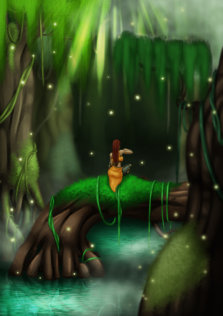 Swamp by Lazy-a-Ile