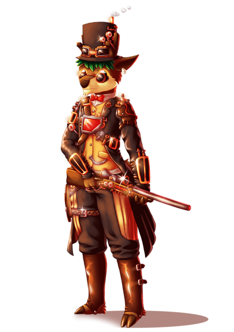 Lazertag Steampunk Outfit by Lazy-a-Ile