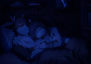 PKMN Skies - Cute Sleep by Lazy-a-Ile