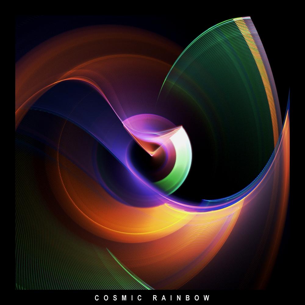 rainbow cosmic fractal