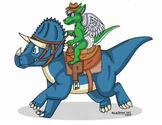 Dinosaur Calvary by CharTeam