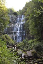 Hedgehog's Waterfalls (Jura-France) by Omoidenoki
