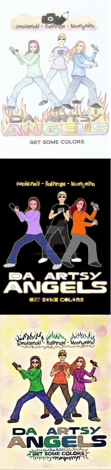 ARTSYs Angels Collab by Omoidenoki