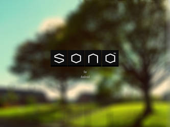 SONA Logotype by reb70